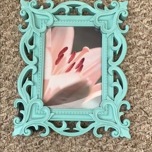 Other - Aqua picture frame